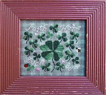 Carriage House Samplings - More Than Luck - Cross Stitch Pattern-Carriage House Samplings, More Than Luck, Cross Stitch Pattern