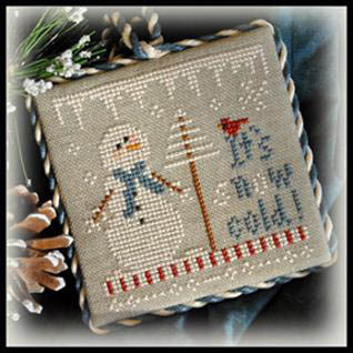 Little House Needleworks - Ornament of the Month 2012 - No. 08 - It's Snow Cold - Cross Stitch Pattern