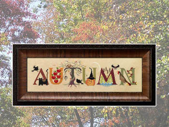 Cross-Eyed Cricket - Autumn - Cross Stitch Pattern