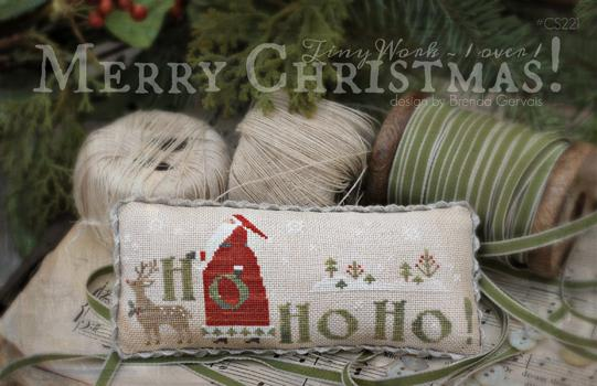 With Thy Needle & Thread - Merry Christmas!-With Thy Needle  Thread - Merry Christmas, Santa Claus,