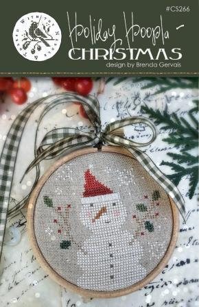 With Thy Needle & Thread - Holiday Hoopla - Christmas-With Thy Needle  Thread - Holiday Hoopla - Christmas, snowman, ornament, winter, cross stitch