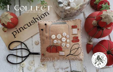 With Thy Needle & Thread - I Collect-With Thy Needle  Thread - I Collect, sewing, stitching, tomato, pin cushion, needles, buttons, scissors, threads, cross stitch