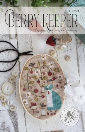 With Thy Needle & Thread - Berry Keeper-With Thy Needle  Thread - Berry Keeper, berry plants, growing, sewing, floss, flowers, cross stitch