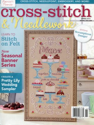 Cross Stitch & Needlework Magazine - 2015 - #2 - Spring-Cross Stitch  Needlework Magazine, 2015, Spring, ornaments, cross stitch,