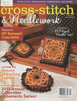 Cross-Stitch & Needlework Magazine - 2015 - #4 - Fall-Cross-Stitch  Needlework Magazine - 2015 - 4 - Fall