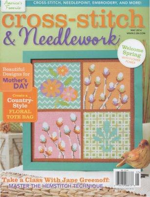 Cross Stitch & Needlework Magazine - 2014 - #3 - May/June-Cross Stitch  Needlework Magazine, 2014,May June issue, ornaments,