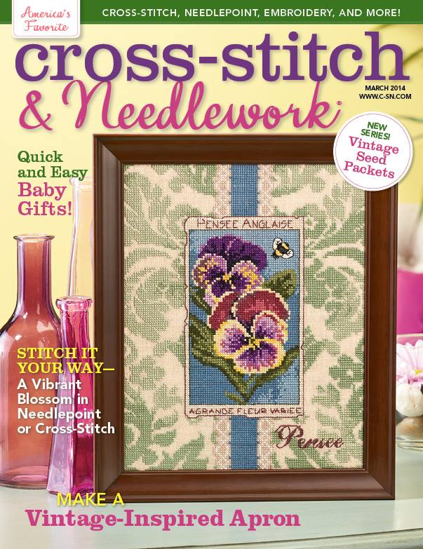 Cross Stitch & Needlework Magazine - 2014 - #2 - March/April-Cross Stitch  Needlework Magazine, March 2014, cross stitch