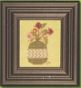 Heart in Hand Needleart - Curio - Blooms-Heart in Hand Needleart - Curio - Blooms - Cross Stitch Chart