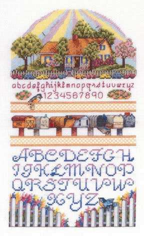 Bobbie G. Designs - Sunshine Sampler - Cross Stitch Pattern