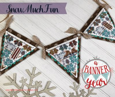 Hands On Design - A Banner Year - Snow Much Fun-Hands On Design - A Banner Year - Snow Much Fun, ornaments, decorating,