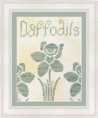 Flowers 2 Flowers - Daffodils - Cross Stitch Chart