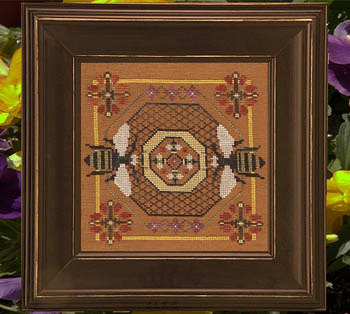 Ships Manor - Dance of the Bees - Cross Stitch Pattern