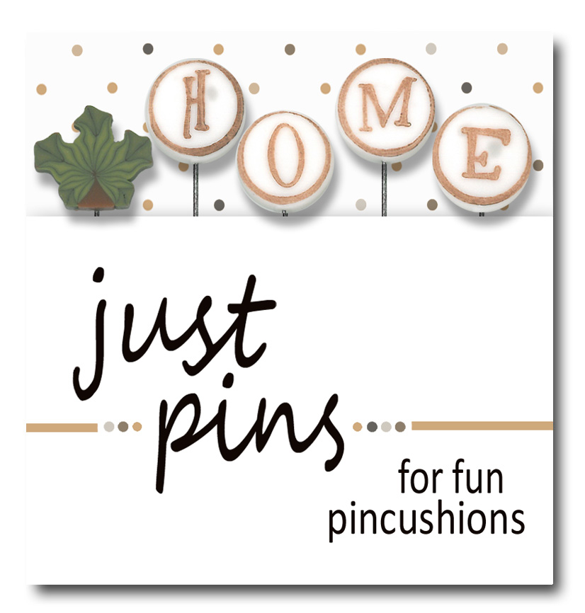 Just Another Button Company - Just Pins - H is for Home