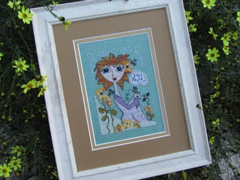 Designs by Lisa - Just Be - Cross Stitch Pattern