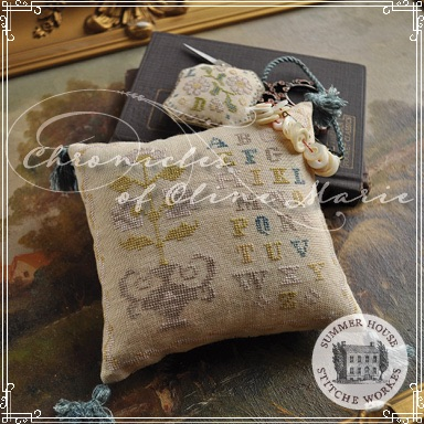 Summer House Stitche Workes - Chronicles of Oline Marie - Volume I-Summer House Stitche Workes - Chronicles of Oline Marie - Volume I, cross stitch