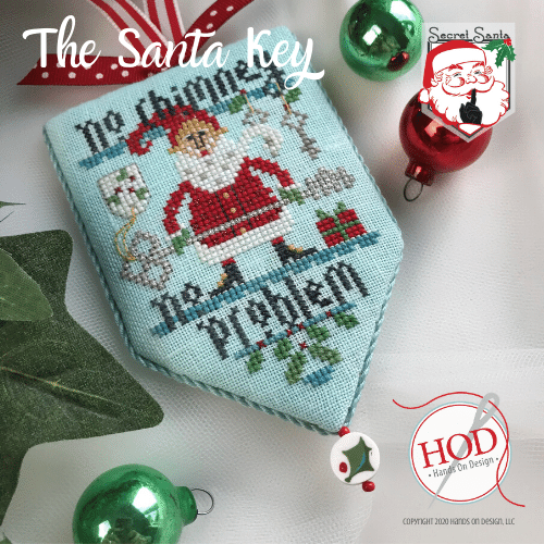 Hands On Design - Secret Santa - The Santa Key-Hands On Design - Secret Santa - The Santa Key