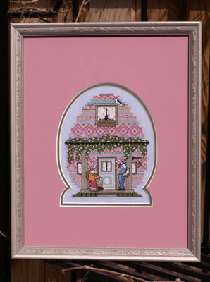 Ships Manor - The Egg House - Cross Stitch Chart-Ship's Manor - The Egg House - Cross Stitch Chart