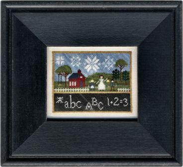 Erica Michaels Needleart Designs - Golden Rule Days - Cross Stitch Pattern