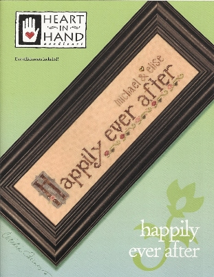 Heart in Hand Needleart - Happily Ever After - Cross Stitch Chart-Heart in Hand Needleart - Happily Ever After - Cross Stitch Chart