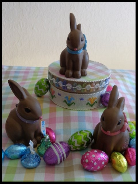 Faithwurks Designs - Chocolate Bunny Box-Faithwurks Designs - Chocolate Bunny Box - Easter, chocolate, cross stitch