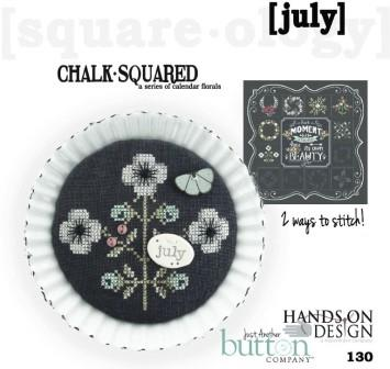 Hands On Design & Just Another Button Co - Chalk Squared #07 July