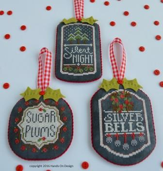 Hands On Design - Chalkboard Ornaments - Christmas Collection Part 3