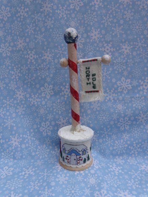 Faithwurks Designs - The Way to the North Pole - Limited-Faithwurks Designs - The Way to the North Pole, Santa Claus, cross stitch, Christmas