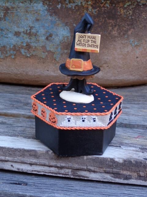 Faithwurks Designs - Witch Switch Boo-tiful Box