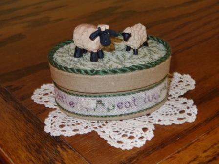 Faithwurks Designs - Little Lambs Eat Ivy - 2015 Nashville Limited Edition Kit-Faithwurks Designs - Little Lambs Eat Ivy - 2015 Nashville Limited Edition