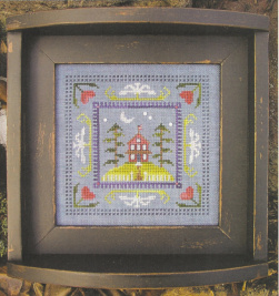 SamSarah Design Studio - A Day @ Home Series - 1 of 4 - Friday Night - Cross Stitch Kit