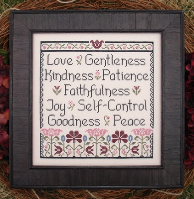 My Big Toe Designs - Fruit of the Spirit - Cross Stitch Pattern