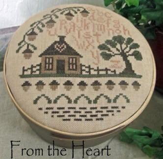From The Heart - Needleart by Wendy - The Acorn House