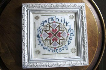 From The Heart - Needleart by Wendy - Amish Alphabet-From The Heart - Needleart by Wendy, Amish Alphabet, Cross Stitch Pattern, samplers