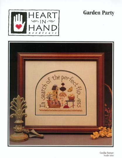 Heart in Hand Needleart - Garden Party