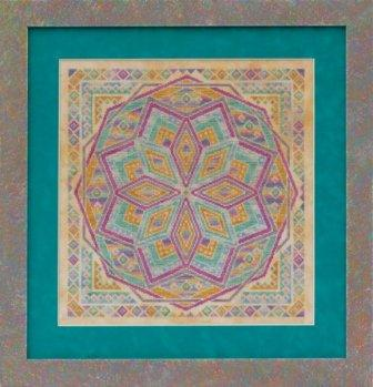 Glendon Place - Rainbow Parfait - Cross Stitch Pattern
