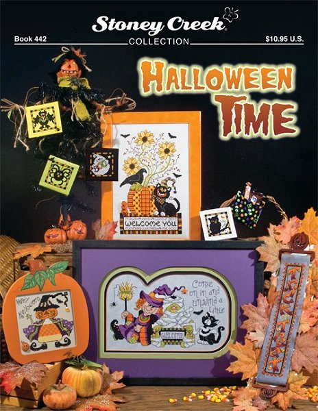 Stoney Creek - Halloween Time - Cross Stitch Patterns