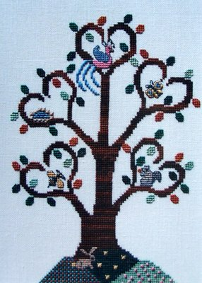 The Needle's Notion - Heartwood - Cross Stitch Pattern