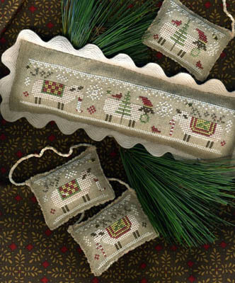 Homespun Elegance - Merry Noel Collection - Merry Eweies