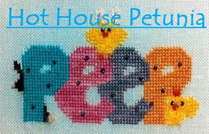 Hot House Petunia Designs - Peep - Cross Stitch Pattern-Hot House Petunia Designs, Peep, Easter, chicks, Easter candy,  Cross Stitch Pattern