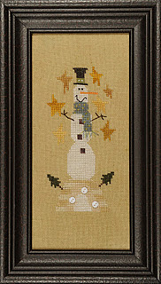 Heart in Hand Needleart - Snowman on a Hill - Wee Ones