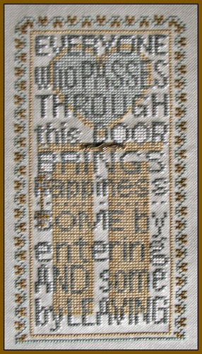 Hinzeit - Enter Happiness-Hinzeit - Enter Happiness, happy, cross stitch