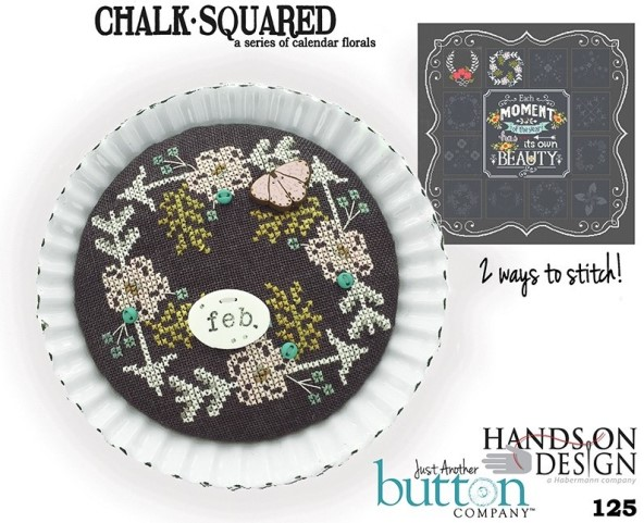 Hands On Design & Just Another Button Co - Chalk Squared #02 February
