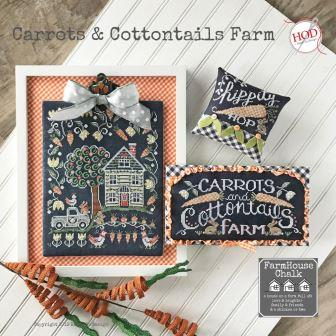 Hands On Design - Farmhouse Chalk - Carrots & Cottontails Farm-Hands On Design - Farmhouse Chalk - Carrots  Cottontails Farm, bunnies,