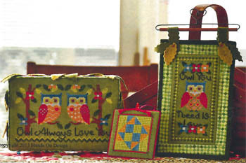 Hands On Design - Owl Love - Cross Stitch Chart
