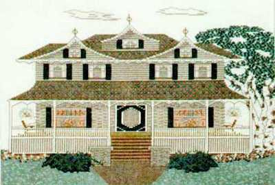 Jeanette Ardern Designs - Gingerbread House - Cross Stitch Pattern-Jeanette Ardern Designs Gingerbread House Cross Stitch Pattern