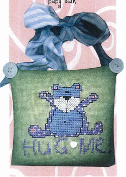 Amy Bruecken Designs - Baby Talk - Hug me - Cross Stitch Pattern