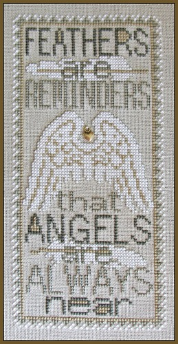 Hinzeit - Feathers-Hinzeit - Feathers - ANGELS,God,  Cross Stitch Pattern