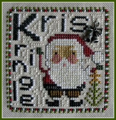 Hinzeit - Kris Kringle-Hinzeit - Kris Kringle, Christmas, Santa Claus, cross stitch