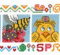 Imaginating - Spring Friends-Imaginating, Spring Friends,  Cross Stitch Pattern