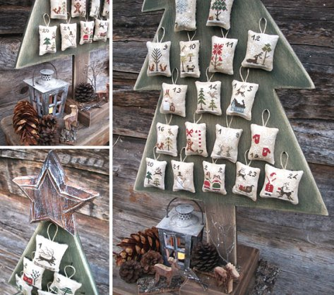 The Little Stitcher - Fairytale Advent Calendar-The Little Stitcher - Fairytale Advent Calendar, Christmas, Christmas calendar, ornaments, cross stitch